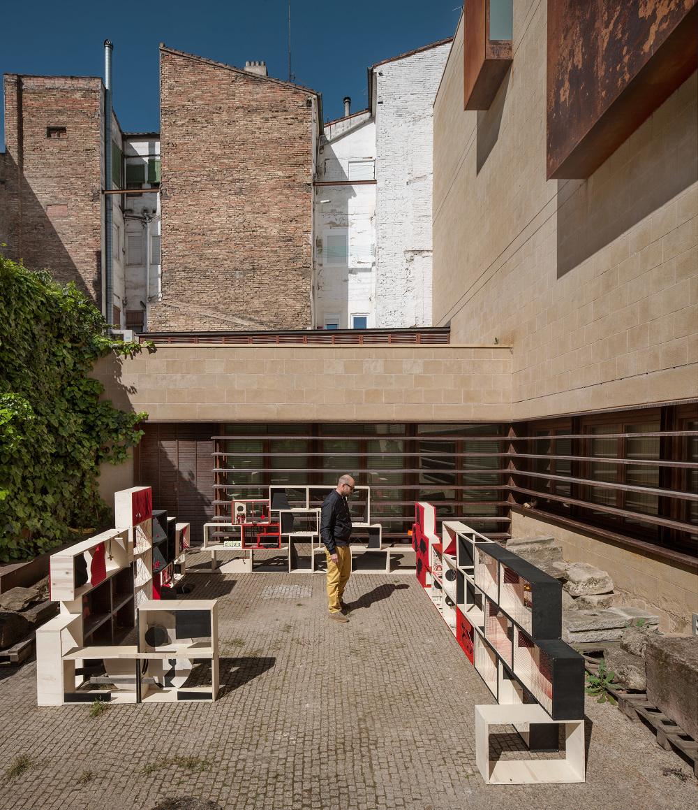 Escuela de dise o de la rioja el patio fragmentado for Hotel diseno la rioja